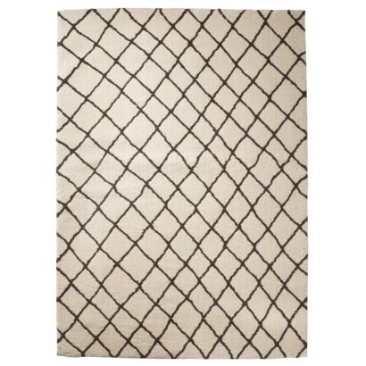 Threshold Criss Cross Fleece Rug Gray 7x10 250 All