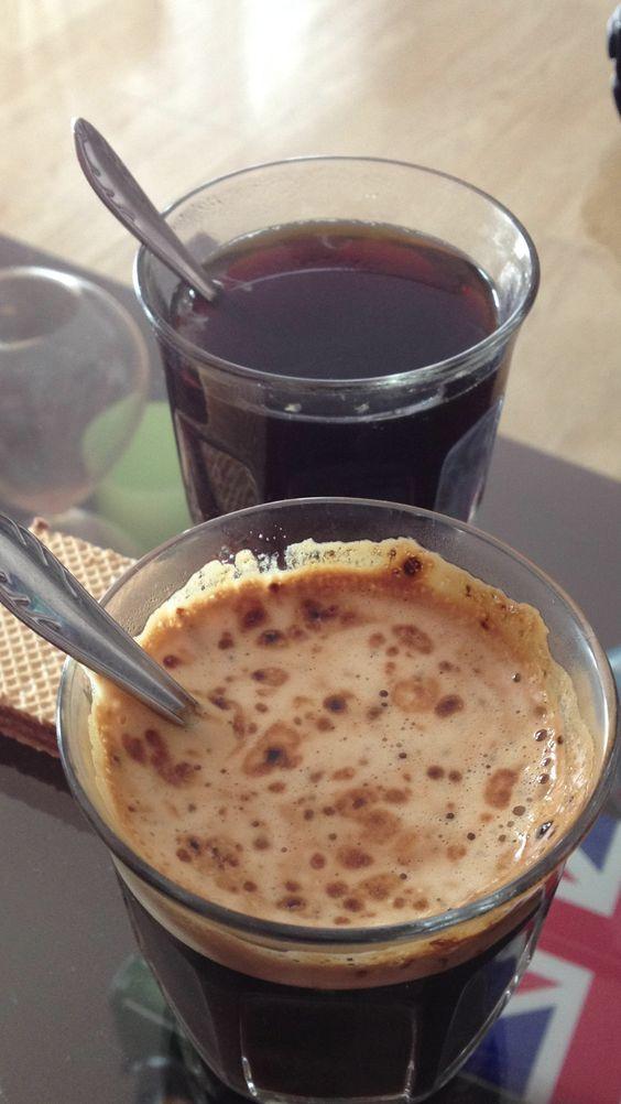 Clases de cafe con el uru. :)