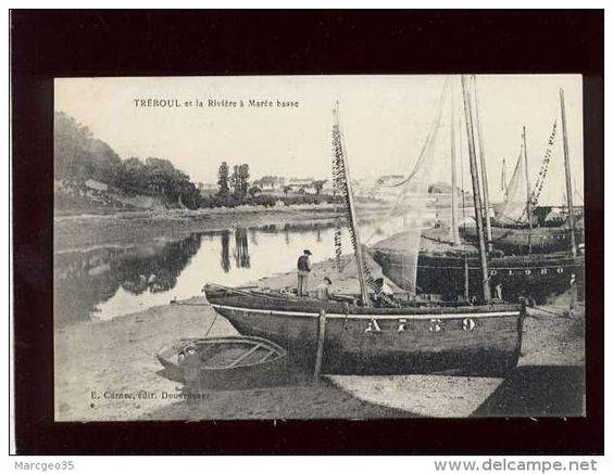 Canot à tapecul d'Audierne à Tréboul