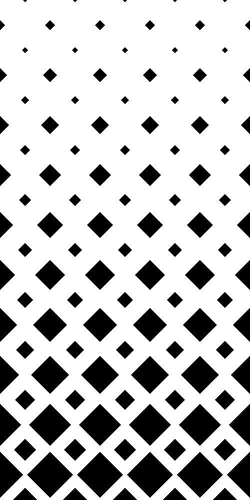 Black And White Square Pattern Background Monochrome Geometric