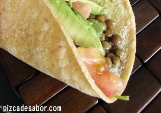 Tacos De Lentejas Chile Vive Sano Lentejas Rellenos Para Tacos Comida étnica