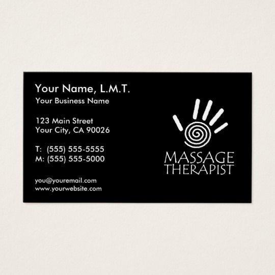 Massage Therapy Business Cards Zazzle Com In 2021 Massage Therapy Business Cards Massage Therapy Business Massage Therapy