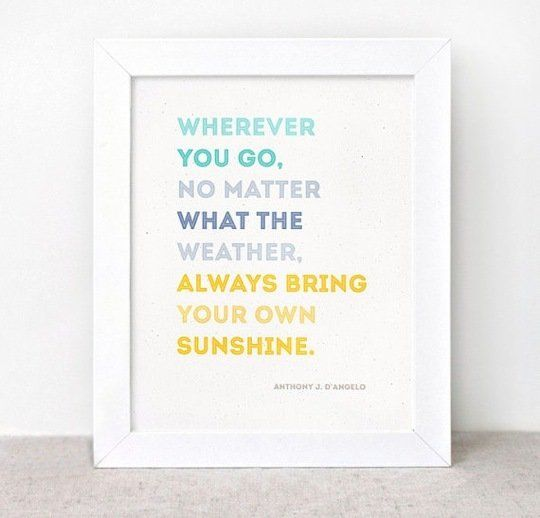10 Inspirational Prints for the New Year