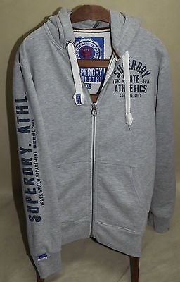 SUPERDRY STATE ATHL rare HOODIE cotton sz XL jumper logo EX LARGE hood BIG LOGO https://t.co/TxlxGlY0z9 https://t.co/qDhOjx2c8h