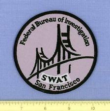 FBI ~SWAT ~ SAN FRANCISCO CALIFORNIA CA Federal Police ...