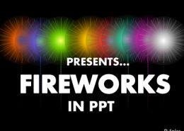 Fireworks-Effect