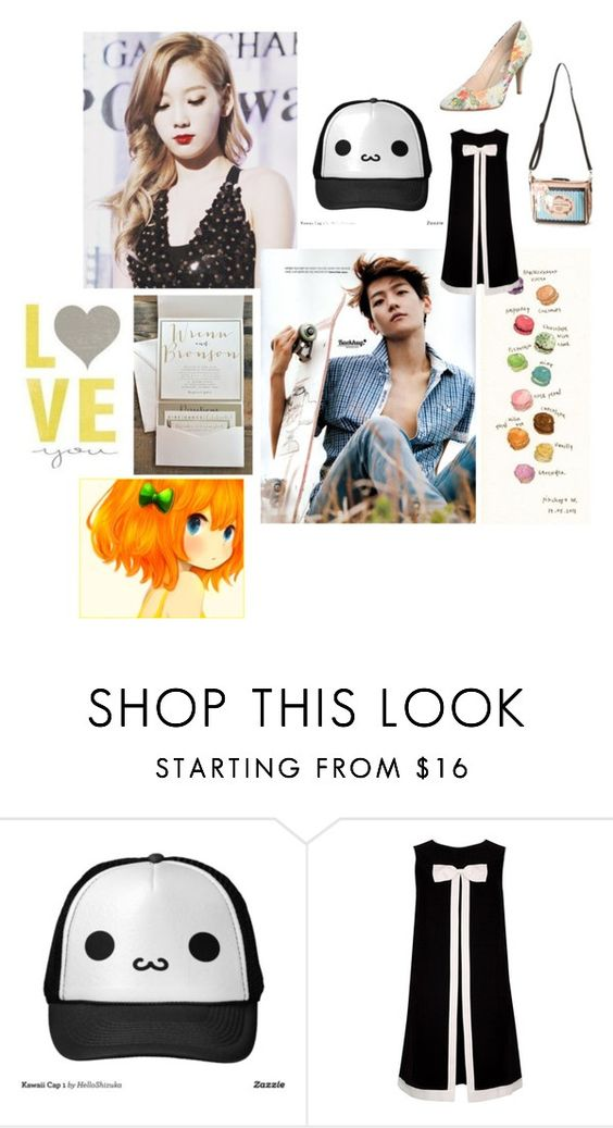 """""""Tae yeon n baek hyun"""" by angelworlds21 ❤ liked on Polyvore featuring Ted Baker"""