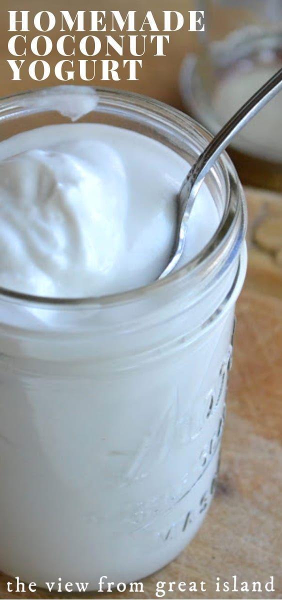 Coconut Yogurt Recipe In 2020 Yogurt Recipes Coconut Yogurt