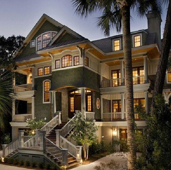 Beautiful 3 Story House House Inspiration Pinterest