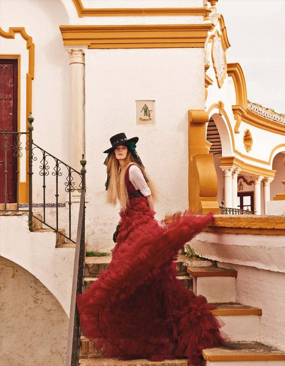 visual optimism; fashion editorials, shows, campaigns & more!: alisa ahmann by giampaolo sgura for vogue germany june 2015: