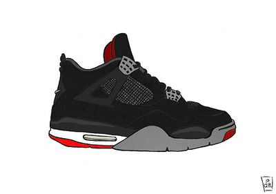 Air jordan IV by the ill suite