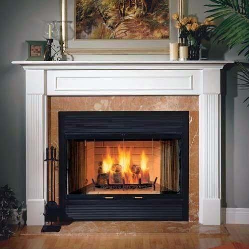 36 Sovereign Heat Circulating Woodburning Fireplace Majestic