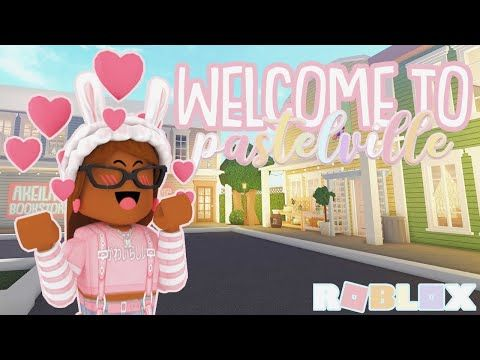Building A Tiny Town 3 Roblox Bloxburg Youtube Touring My New Town Pastelville Roblox Bloxburg Youtube In 2020 Roblox Disney Artwork New Town