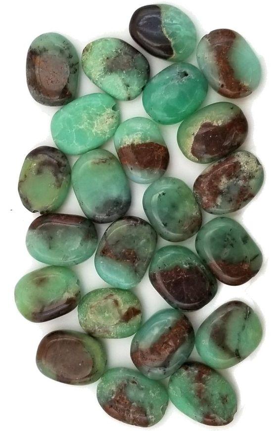 Chrysoprase pierres - Harmonie Chakras