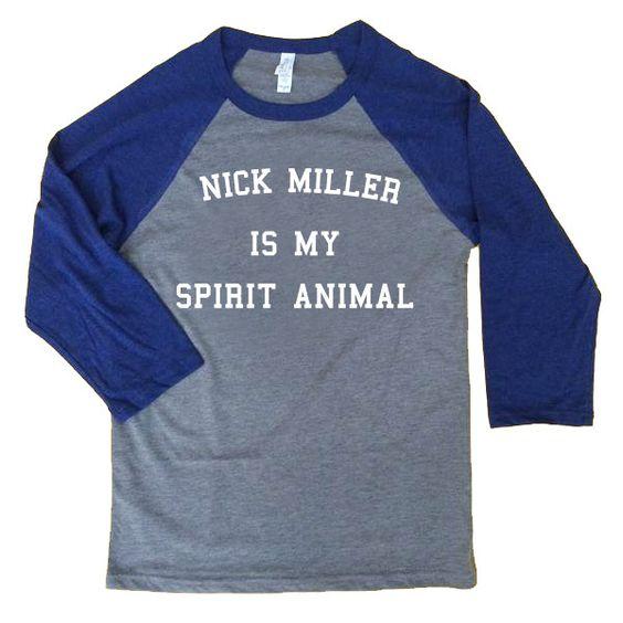 Nick Miller is My Spirit Animal Unisex Baseball Tee