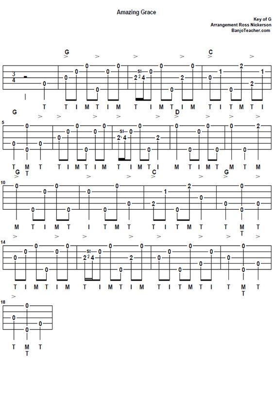 Banjo banjo tablature amazing grace : Pinterest • The world's catalog of ideas