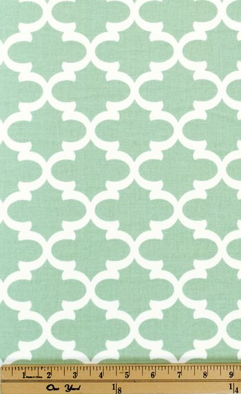 Quatrefoil Fabric Fulton Artichoke made by Premier Prints Inc