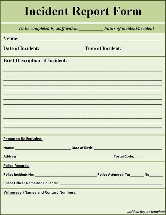 Doc600706 Sample of a Police Report Sample Police Report – Sample Police Report Form