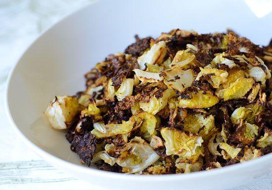Roasted Savoy Cabbage