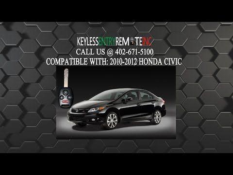 How To Change A 2006 2011 Honda Civic Key Fob Battery Key Fob