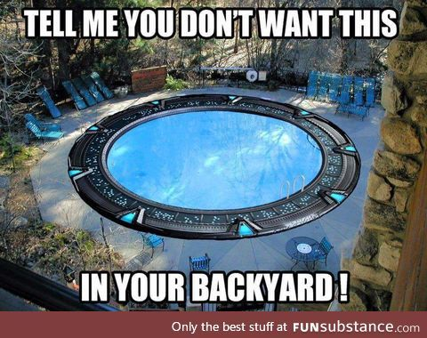 I Have Found My Dream Pool