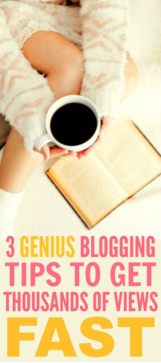 How her blog went from 0 to over 1,600,000 views in just 4 months are THE BEST! I'm so glad I found these GREAT tips! Now I can get a ton of views to my blog! Definitely pinning for later!