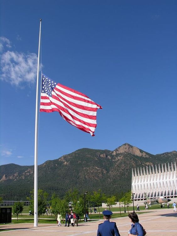 arizona flags at half mast