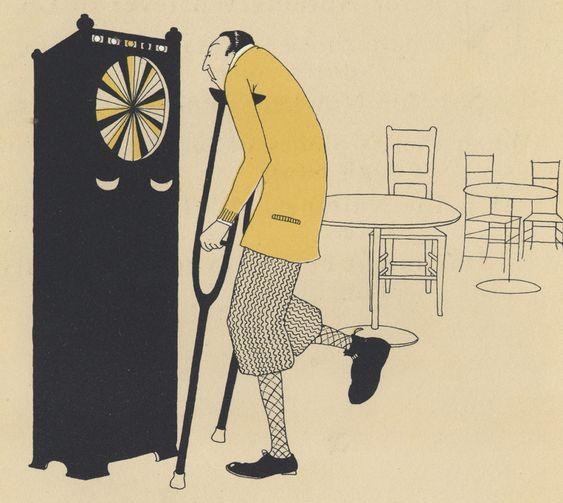 "Pictures by Joyce Dennys, verses by ""Evoe"" (E. V. Knox) (The Bodley Head, 1926)"