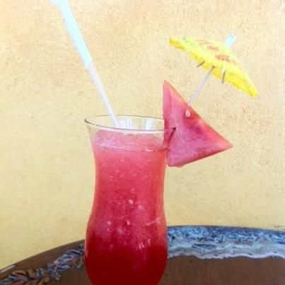 Watermelon Cooler At Malakor Thai Cafe In West Palm Beach Florida Food Thai Cafe Food
