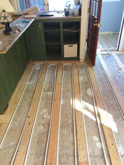 Janes Radiant Install Radiant Floor Heating Yourself Radiant Floor Heating Radiant Floor Floor Heating Systems