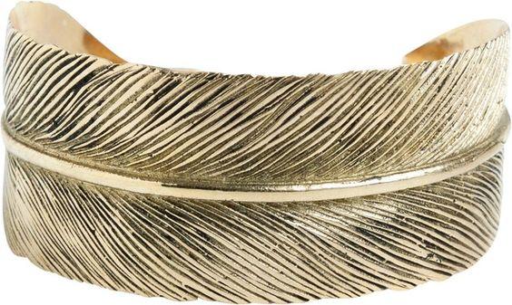 Sunahara Feather Cuff on shopstyle.com