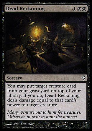 Dead Reckoning (sorcery)