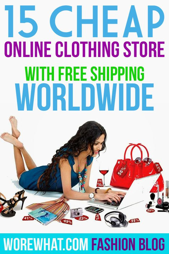 Online discount clothes shopping