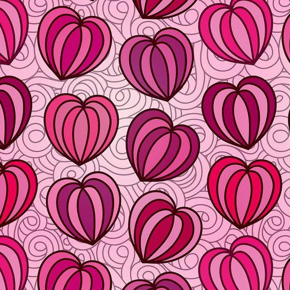 Valentine's day illustrations by ziarel, via Flickr