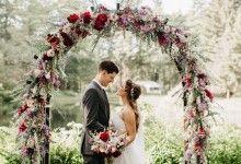10 décorations fleuries qui grimpent, qui grimpent pour embellir votre mariage