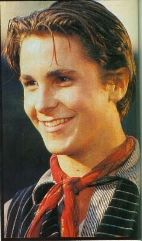 Christian Bale as Jack Kelly in the Newsies. <3