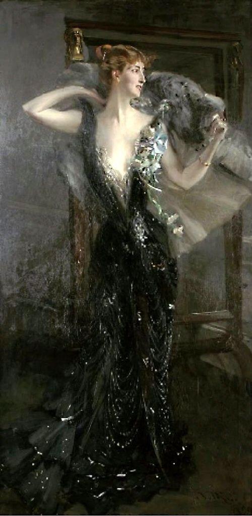 """""""La Contessa Speranza"""" by Giovanni Boldini:"""
