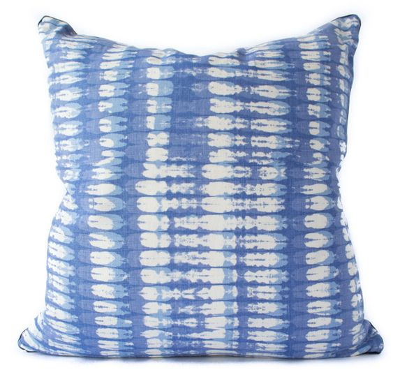 raoul textiles tie dye | THE FALL BACK: A ROUND UP OF 14 UNIQUE THROW PILLOWS TO COZY UP TO