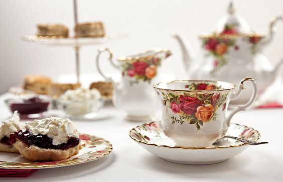 Afternoon Tea | by Andrea Leggett