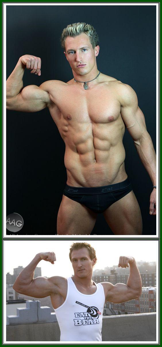 Jeff Grant bande ses biceps