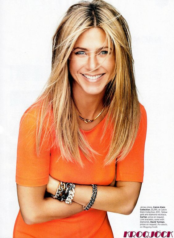 jennifer aniston - Great Natural Self Confidence and Style. Fabulous body.