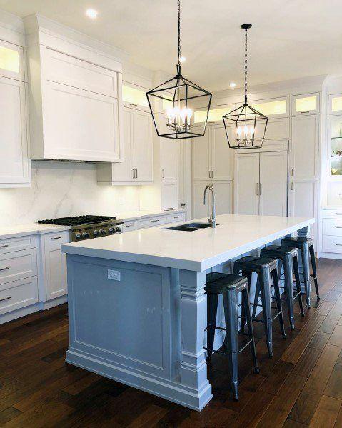 Top 50 Best Kitchen Island Lighting Ideas Interior Light Fixtures Kitchen Island Lighting Modern Kitchen Island Interior Light Fixtures Kitchen island lighting fixtures