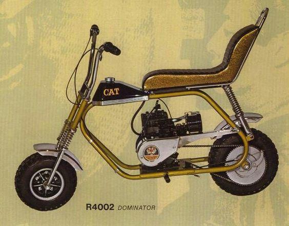Cat Eliminator Mini Bike Seat : I think it s a hpe muskin cat dominator