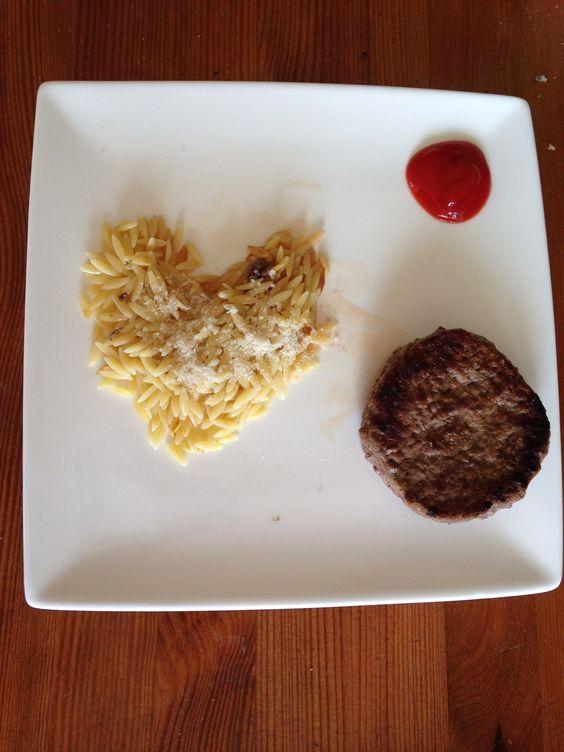 repas en forme de coeur- cuisine - sur charlotteblabla blog-