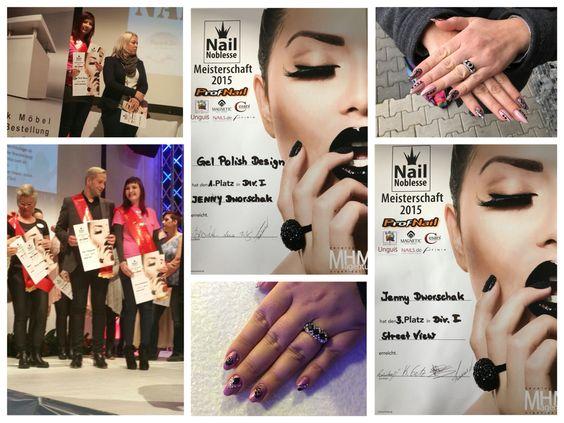 Meisterschaft Kalkar 2015 Nailart Design Nägel Nails