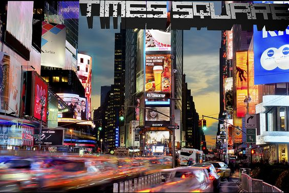 Times Square by Tony Shi., via Flickr