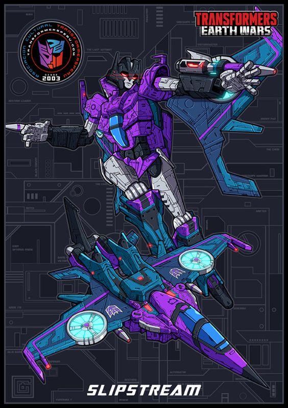 Slipstream Transformers Artwork Transformers Megatron Art Transformers