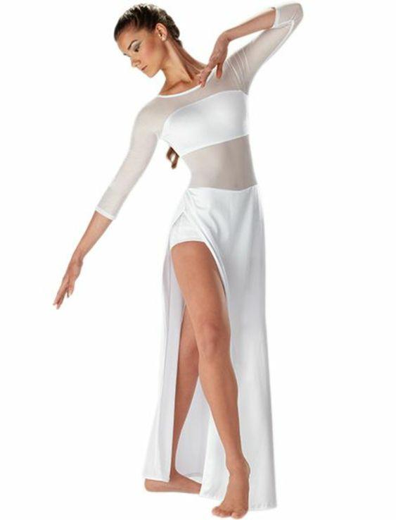 tenue de danse moderne, costume joli et élégant