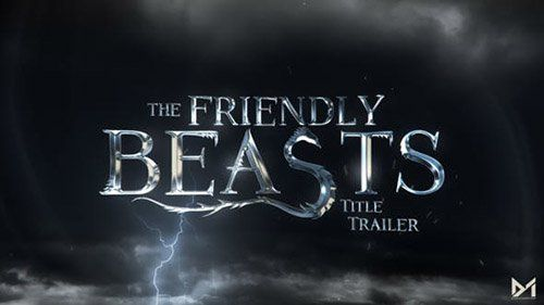 Friendly Beast Title Trailer - Project for After Effects (Videohive)