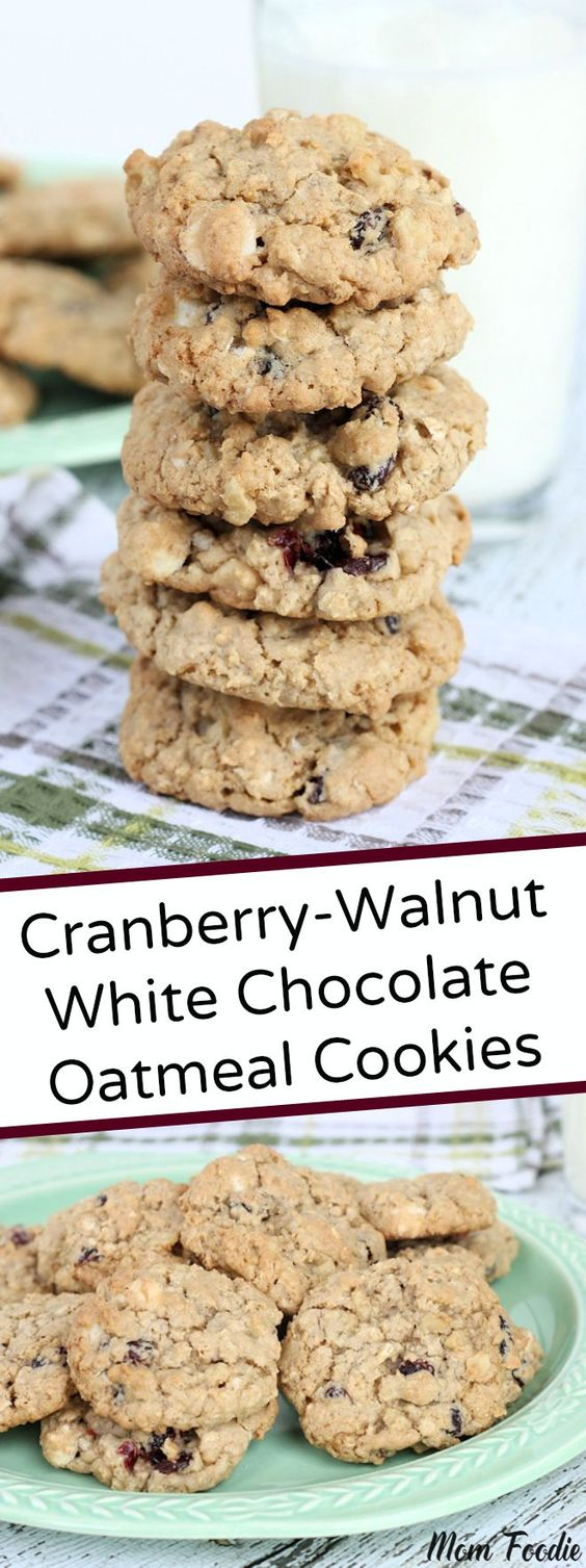 cookies cranberry walnut chocolate oatmeal oatmeal cookies white ...